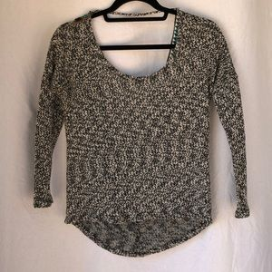 Vintage Havana cropped sweater with detail